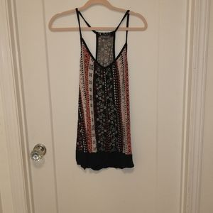 Tank top bundle of two funky and soft tops